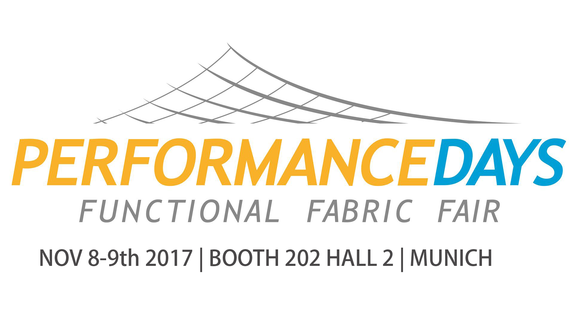 FUNCTIONAL FABRIC SHOW- PERFORMANCE DAYS MUNICH NOV 8-9th 2017