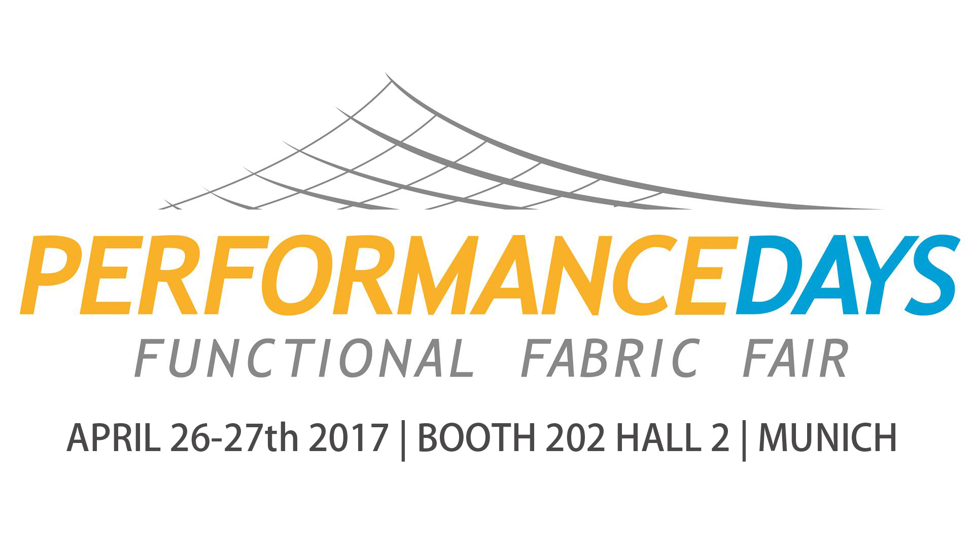 FUNCTIONAL FABRIC SHOW- PERFORMANCE DAYS MUNICH APR 26-27th 2017